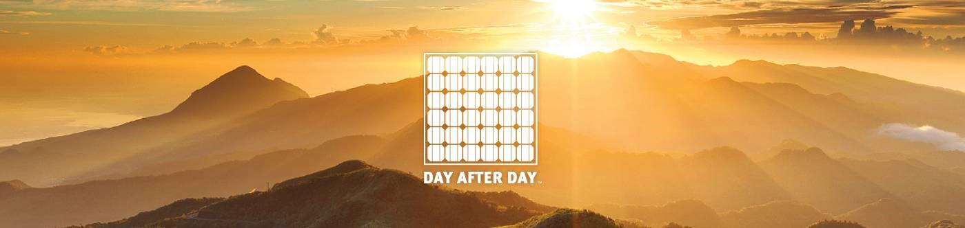 DuPont Photovoltaics – Daybreak over mountains, day after day.